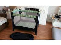 Very good condition travel cot / playpen