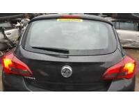 Vauxhall corsa e tailgate bootlid in black z20r 3 door 15-17