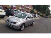 Nissan micra automatic low mileage 2004