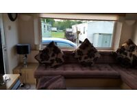 STATIC CARAVAN 2 BEDROOM AND PULL OUT BED,NEWHALL CARAVAN PARK HAMSTERLEY FOREST.SITE FEES PAID