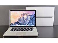 Apple Macbook pro retina display 15.4 2.5Ghz 1TB hardssd 16GB ram