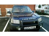 LEFT HAND DRIVE FREELANDER TD4 CHAIN DRIVEN BMW DIESEL ENGINE AUTOMATIC GEARBOX