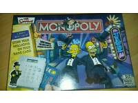 Simpsons electronic monopoly