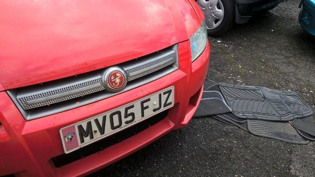 Fiat Stilo Abarth Uk Limited Edition Schumacher In Lees