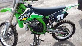 Kawasaki kx 125 2004