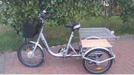 Batribike trike 20, battery tricycle, mobility bike