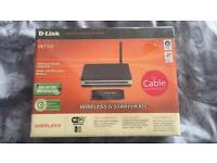 Wireless cable router & wireless adaptor