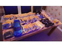 3 x RARE Deagostini Electric RC subaru Impreza CAR 1/10 Magazine (NEW FULL KIT)