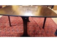 Ercol coffee table Folding Drop leaf side tea/ party table 820 Very Good Condition