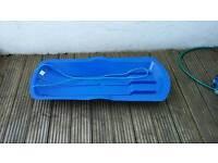 Plastic sledge