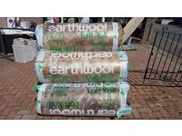 Earth wool loft roll different sizes available