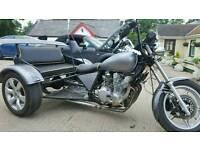 Xj 750 Yamaha road legal trike
