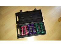 Set of 6 dumbbells in box - excellent condition!