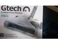 Used, good condition - Gtech SW18 Cordless Floor Sweeper - White