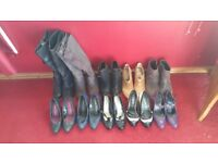 Joblot of shoes/boots for sale size 4.