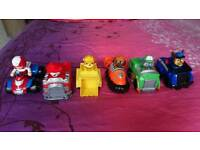 6 paw patrol vehicles