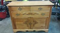 Restored antique dresser