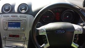 Ford Mondeo 2.0 TDCI Diesel Zetec 6spd Manual , Sat Nav , Bluetooth, Silver Low Miles FSH Two Keys