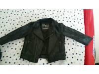 Boys leather jacket age 12 -18