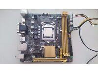 Asus H81I-PLUS Motherboard (Socket 1150, DDR3, Mini ITX, PCI Express 2.0, HDMI, USB 3.0) + PicoPSU