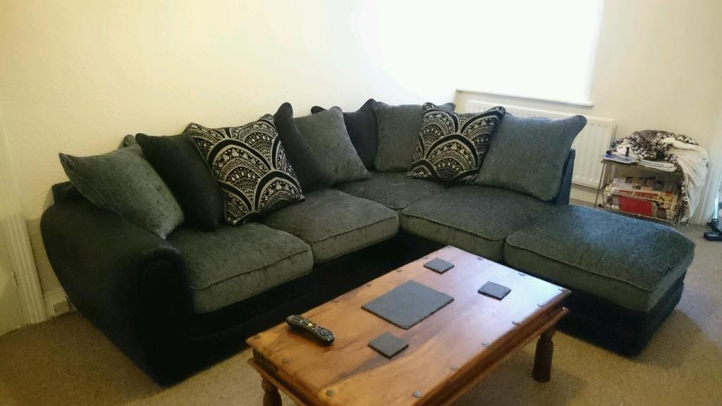 Like New Littlewoods Gatsby Large Corner Sofa