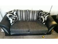 Nearly new 3 seater sofa