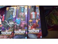 Marvel Guardians of the galaxy titan figures