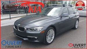 2015 BMW 328I XDRIVE.PREMIUM.TOURING.CUIR.GPS.IMPECCABLE.RARE