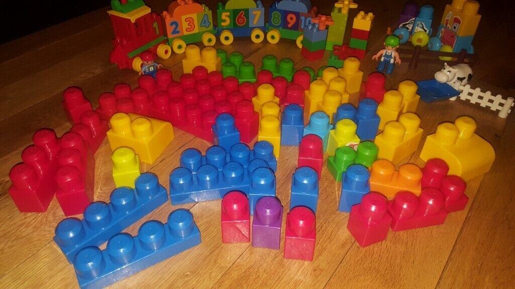 Lego Duplo Train And Mega Blox Bundle In Banbridge County Down