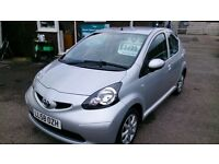 2009 TOYOTA AYGO PLATINUM 1.0L 5 DOOR HATCH AUG 2017 MOT 52K F/S/H ALLOYS CD R/C/L 2 KEYS PLUS MORE