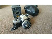 Olympus and vintage camera job lot