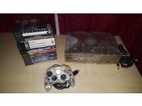 Microsoft Xbox Crystal with 15 games