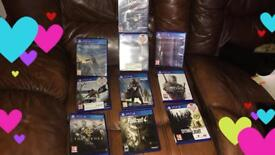 Playstation 4 and 9 games