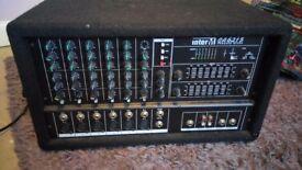 InterM powered mixer