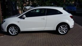 August 2014 3dr Seat Ibiza Toca 1.4 in White