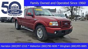 2010 Ford Ranger Sport 4X4 | Accident Free | Tow Pkg