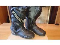TCX waterproof motorcycle bike leather boot shoe Honda Suzuki Yamaha Kawasaki Triumph Alpinestars