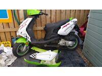 Lingben 49cc Moped