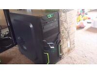 i7 Quad Core 3.4GHz Gaming PC, 8GB DDR3 RAM, 500GB HD, 2 DVD Drive, Geforce GT 710 2GB, 400 watt PSU