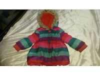 BUNDLE OF LITTLE BABY GIRLS JACKETS COATS GILETS INC NEXT AGE 12-18 MONTHS VGC