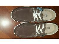 Mens size 8 boat shoes