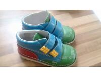 Leather Lego Kickers boots
