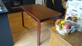 Beautiful Dark Wood Dining Table - Varnished
