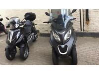 Motorcycle and moped courier delivery small and large packages central london to anywhere