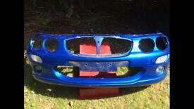 Mg Zr front bumper