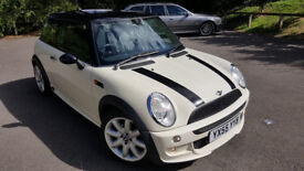 Mini Cooper 1.6 Sport Pack, 2005, 78k, Mot, Service History, 2 Keys & Part Leather Interior £2995