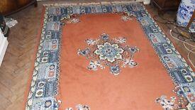 Morrocan wool carpet - 243cm x 173cm