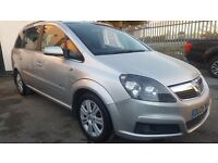 VAUXHALL ZAFIRA DESIGN 7 SEATER DIESEL (new shape) £1795