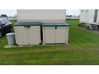 Keter storage boxes