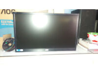 "unused computer monitor 21.5"" led never used still in box"